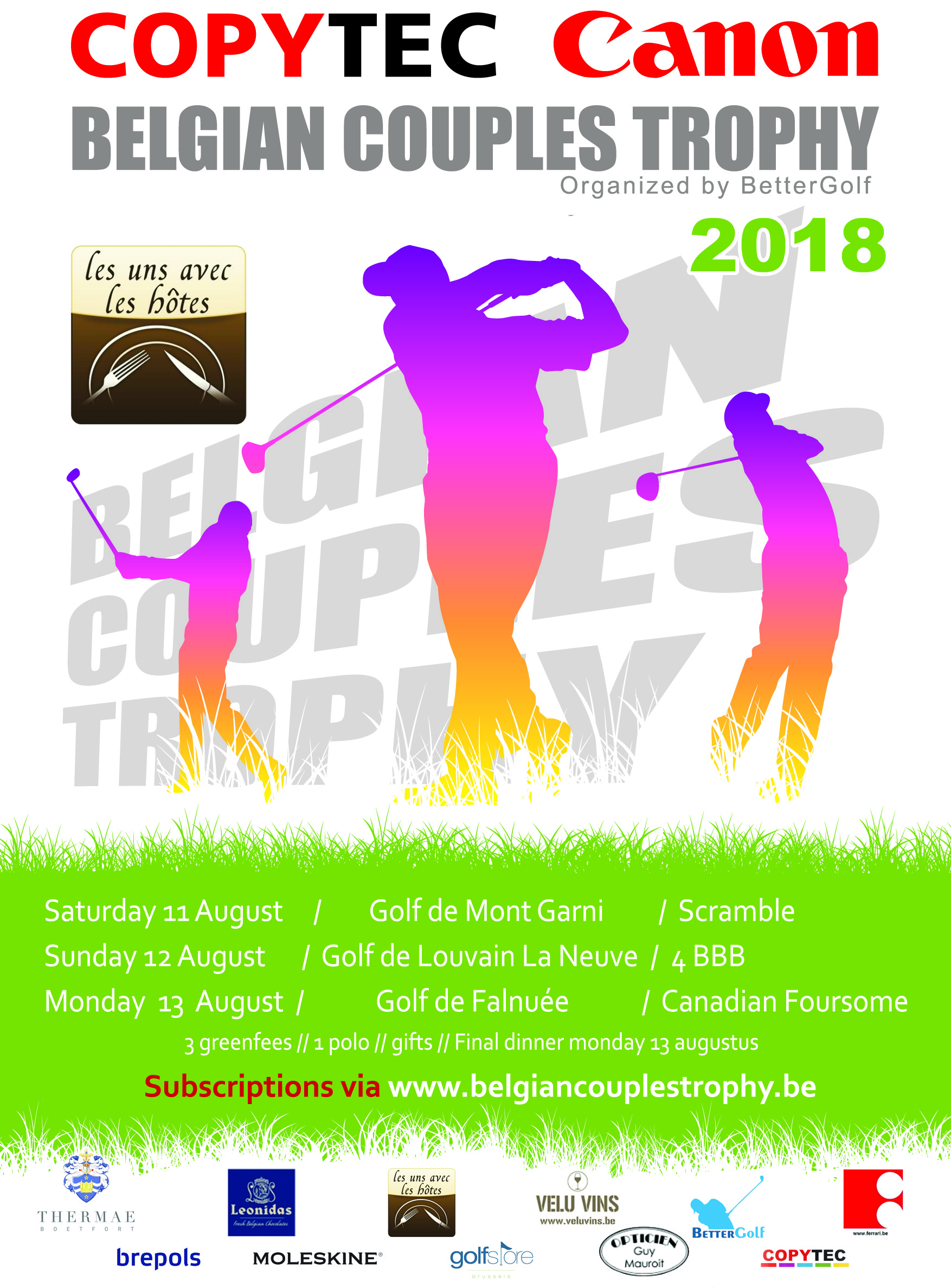 Belgian Couples Trophy 2018